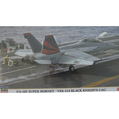 Maquette avion: F/A-18F Super Hornet VFA-154 Black Knights CAG - Hasegawa-00857