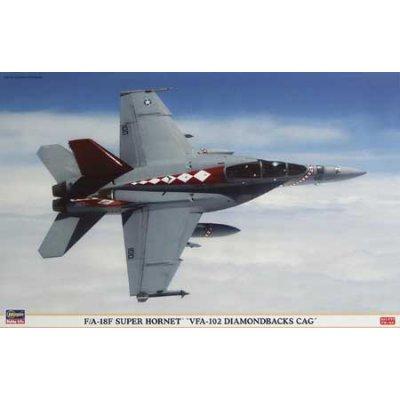 Maquette avion: F/A-18F VFA-102 Diamond  - Hasegawa-09802