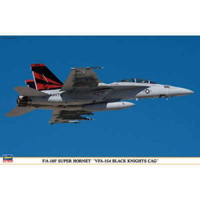 Maquette avion: F/A-18F VFA-154 Black Knights - Hasegawa-09816