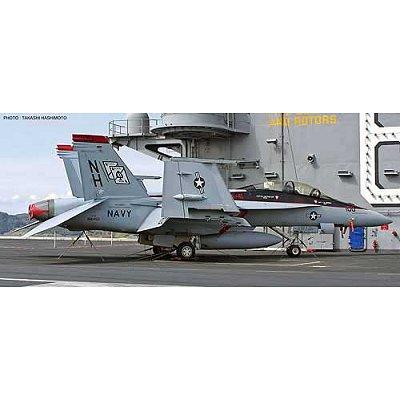 Maquette avion: F/A-18F VFA-41 Black Aces - Hasegawa-09827