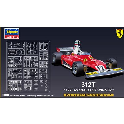 maquette formule 1 ferrari 312t 1975 gp monaco hasegawa rue des maquettes. Black Bedroom Furniture Sets. Home Design Ideas