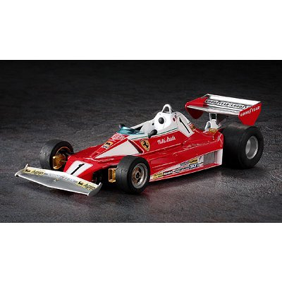 maquette formule 1 ferrari 312t2 1976 hasegawa magasin de jouets pour enfants. Black Bedroom Furniture Sets. Home Design Ideas