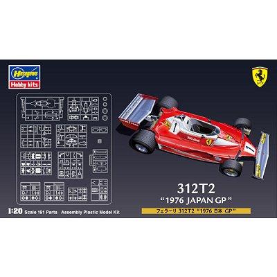 Maquette Formule 1: Ferrari 312T2 1976 Japan  - Hasegawa-20243