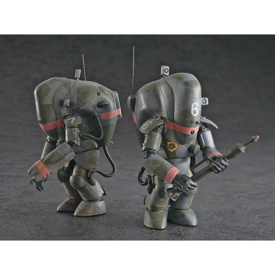Figurines Maschinen Krieger ZbV 3000 : PKA Ausf M Melusine Limited Edition : 2 kits - Hasegawa-64103