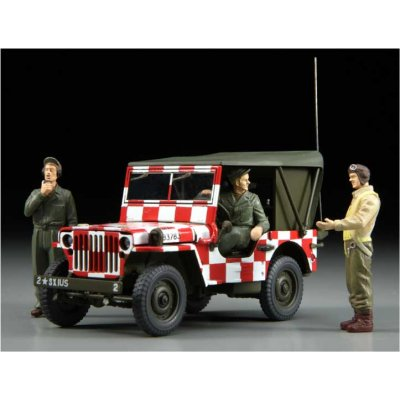 Maquette Jeep Willys MB Follow Me - Hasegawa-36011