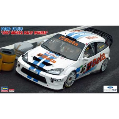 Maquette voiture : Ford Focus Rally Monza - Hasegawa-20240