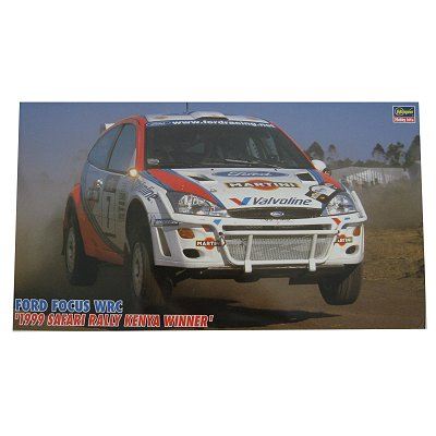 Maquette voiture : Ford Focus WRC 1999 Kenya  - Hasegawa-25027