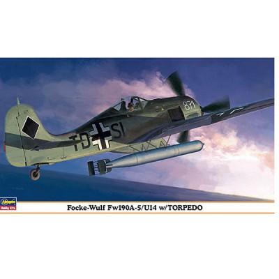 Maquette avion: Fw190A-5/U14 w/Torpedo - Hasegawa-09911