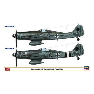 Maquettes avions: Focke Wulf 190D-9 Combo: 2 modèles - Hasegawa-01920