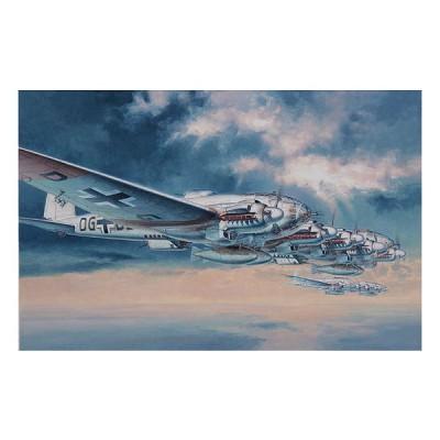 Maquette avion: Heinkel He111Z Zwilling - Hasegawa-00995