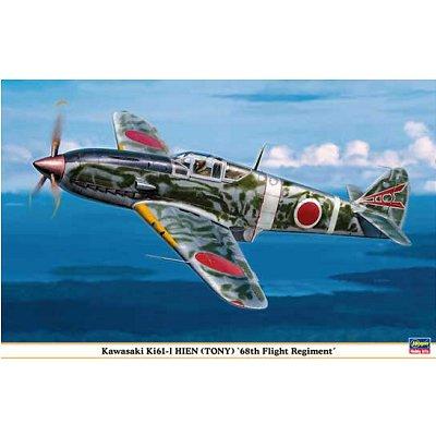 Maquette avion: Kawasaki KI61-I Hien Tony 68th Flight - Hasegawa-08190