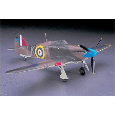 Maquette avion: Hurricane MK.1 - Hasegawa-09065