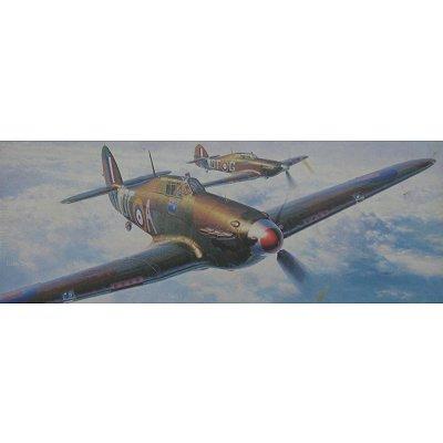Maquette avion: Hurricane MK.I Late Type Battle of Britain - Hasegawa-51338