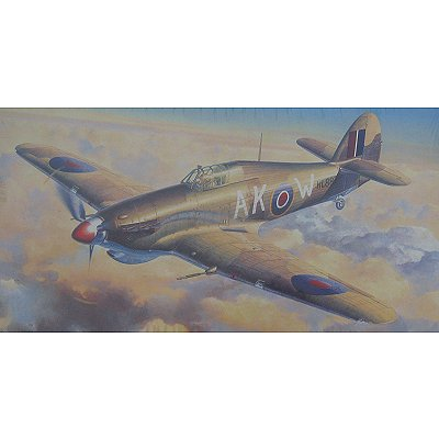 Maquette avion: Hurricane MK.IIC North Africa - Hasegawa-09544