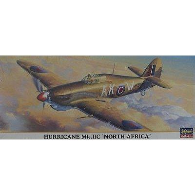 Maquette avion: Hurricane MK.IIC North Africa - Hasegawa-00733