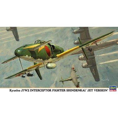 Maquette avion: J7W2 Jet Version - Hasegawa-09846