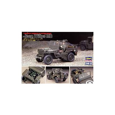 Maquette Jeep Willys MB - Hasegawa-36012