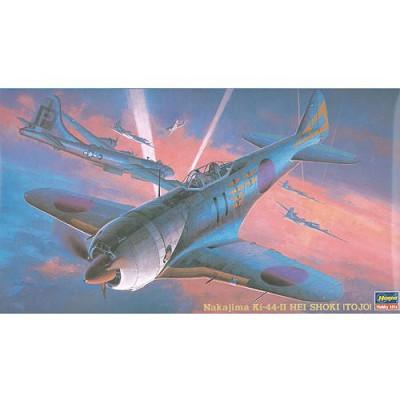 Maquette avion: JT 36 Nakajima Ki-44 HEI SHOKI (Tojo) - Hasegawa-09136