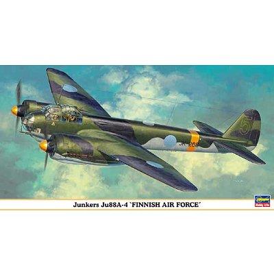 Maquette avion: Junkers JU 88A-4 Finnish Air Force - Hasegawa-00939