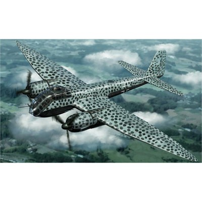 Maquette avion : Junkers JU188 A/E German WWII Bomber - Hasegawa-01563