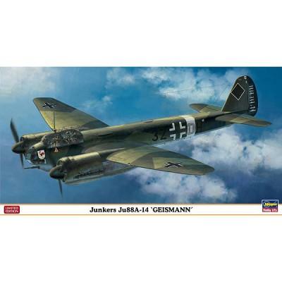 Maquette avion: Junkers JU88A-14 Geismann Limited Edition - Hasegawa-01932