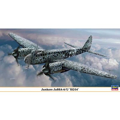 Maquette avion: Junkers Ju88A-6/U - Hasegawa-00963