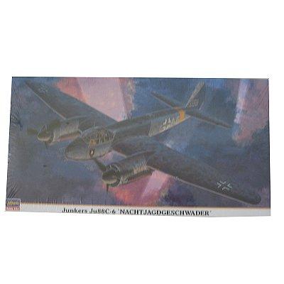 Maquette avion: Junkers JU88C-6 Nachtjagdgeschwader - Hasegawa-00852