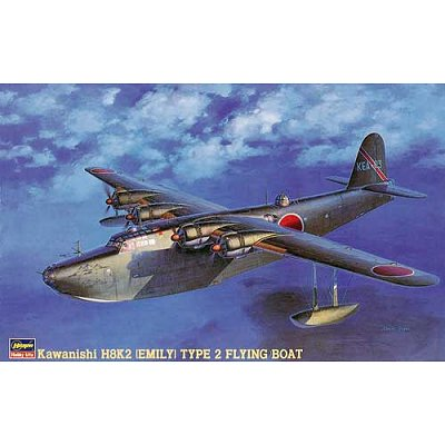 Maquette avion: Kawanishi H8K2 Emily - Hasegawa-51825