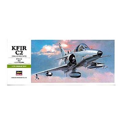 Maquette avion: KFIR C2 - Hasegawa-00237