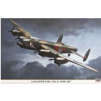 Maquette avion: Lancaster Nose Art - Hasegawa-00878