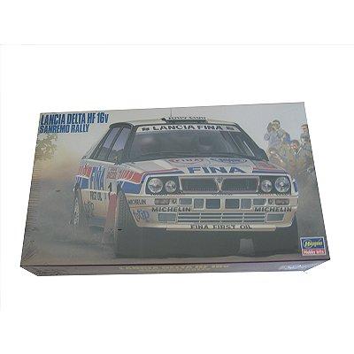 Maquette voiture : Lancia Delta HT16V San Remo Rally - Hasegawa-25005