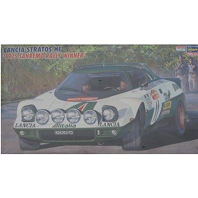 Maquette voiture : Lancia Stratos HF San Remo 1975 - Hasegawa-25033
