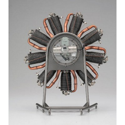 Maquette machine ancienne : Le Rhone 110HP - Hasegawa-51994