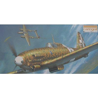 Maquette avion: Macchi C.205 Veltro - Hasegawa-09133
