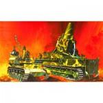 Maquette char Karl avec chargeur