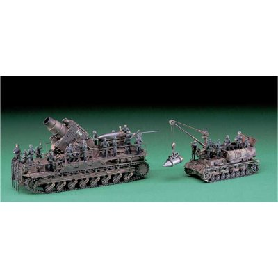 Maquette Char: MB 33 KARL + MunitionPanzer - Hasegawa-31033