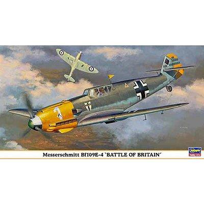Maquette avion: Messerschmitt Bf109E-4 Battle of Britain - Hasegawa-09823