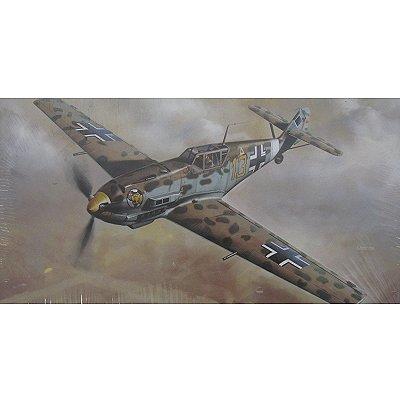 Maquette avion: Messerschmitt BF109E-4/7 TROP North Africa - Hasegawa-09643