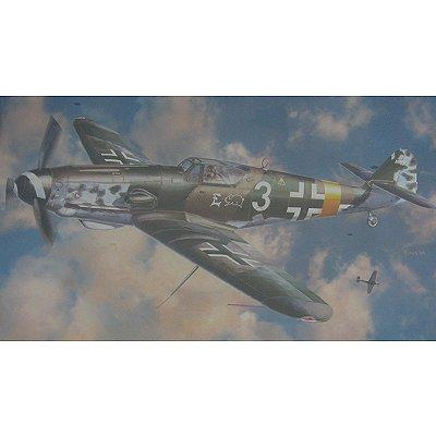 Maquette avion: Messerschmitt BF109G-10 Heinz Ewald - Hasegawa-08157
