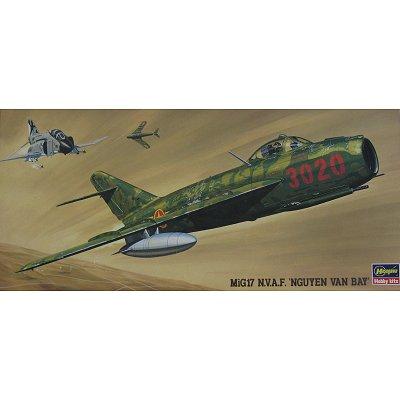 Maquette avion: MIG17 N.V.A.F. Nguyen Van Bay - Hasegawa-02864