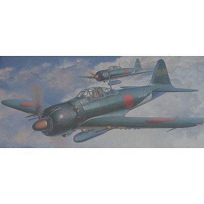 Maquette avion: Mitsubishi A6M5C Zero Fighter Type 52 HEI - Hasegawa-09072