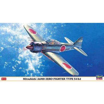 Maquette avion: Mitsubishi A6M8 Zero Fighter Type 54/64 - Hasegawa-09821