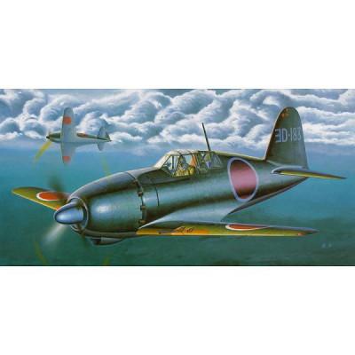 Maquette avion: Mitsubishi J2M6 Raiden Jack Type 31  - Hasegawa-08222