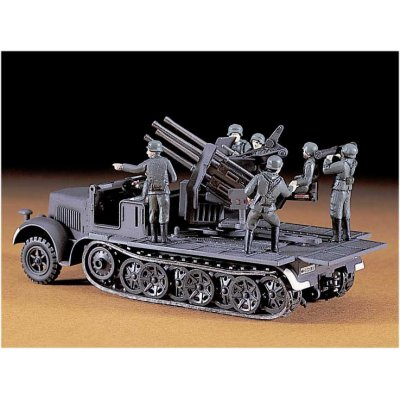 Maquette Half-track Quadruple 20 mm AA 8 Tonnes - Hasegawa-31114