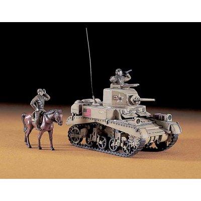 Maquette Char: MT 3 M3 Stuart MK.1 - Hasegawa-31103