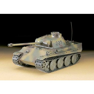 Maquette Char: MT 37 PzV Panther G Steel - Hasegawa-31137