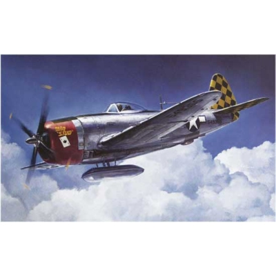 Maquette avion: P-37D-30/40 European Theater - Hasegawa-08174