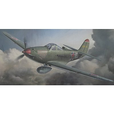 Maquette avion: P-39N Ariacobra Red Star - Hasegawa-09758