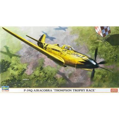 Maquette avion: P-39Q Air Cobra Thompson Trophy Race Limited Edition - Hasegawa-09974