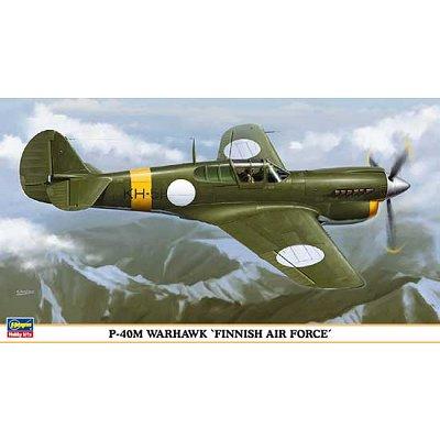 Maquette avion: P-40M Warhawk Finnish Air Force - Hasegawa-09843